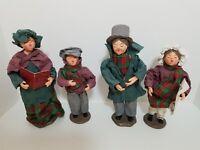 Set of 4 Christmas / Holiday Vintage Carolers