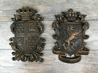 """Crown Tuscan Royal Old World King Wall Plaque Large 16 /"""" X 16/"""" Medieval"""