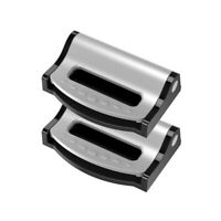 2PCS Lock Clamp Buckle Belt Safety Adjuster Clip Car Seat  Seatbelt Stopper