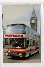 SUPER STAGECOACH: Bus advertising postcard (C27131)
