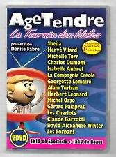 DOUBLE DVD / AGE TENDRE LA TOURNEE DES IDOLES (CONCERT - MUSIQUE)