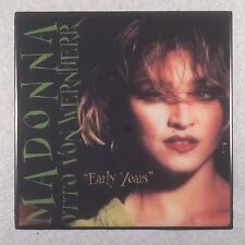 "Madonna Otto Von Wernherr ""Early Years"" Record Cover Art Ceramic Tile Coaster"