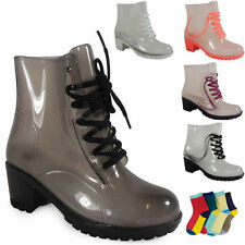 Women's Ankle Cuban Lace Up Synthetic Boots