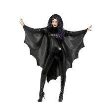 Vampire Bat Wings Haloween Cape Spooky Adults Womens Ladies Fancy Dress Costume