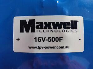 Maxwell Super capacitor 16v-500F