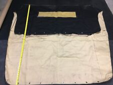 Vintage Convertible ARO Electron Top CANVAS made for JEEP (Black on Tan)