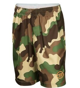 WARRIOR Youth Lacrosse Shorts WLSB451 Size S - Camo