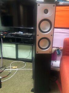 Mordaunt Short MORDAUNT-SHORT MS 502 THX FLOORSTANDING SPEAKERS - $1600