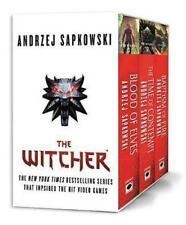 NEW The Witcher Boxed Set By Andrzej Sapkowski Multi-Item Pack Free Shipping