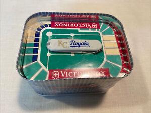 Vintage Victorinox Swiss Army Knife KC Royals MLB Original Sealed Packaging NOS