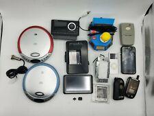 Misc Bulk Electronics Lot junk drawer sony apple sights sirius etc
