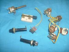 Radio repair shop parts lot ,  switch , fuse holder, etc  /a2