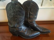 Justin L4903 Mid-Calf Ranch Western Cowboy Boots Women's Size 8B Nice!!