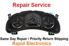 Chevrolet Impala / Venture / Malibu 2003 - 2005 Instrument Gauge Cluster Repair