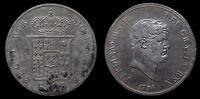 pci1131) Napoli Regno delle Due Sicilie Ferdinando II Piastra 120 gr 1856