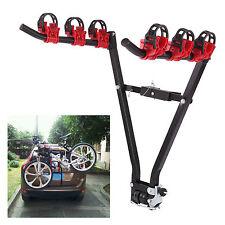 3 Porte-vélos Arrière support voiture rack adapte plupart voitures montage