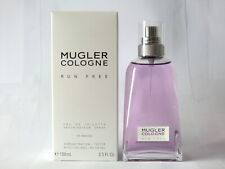 Thierry Mugler Cologne Run Free EDT Nat Spray 100ml - 3.3 Oz NIB Testeur