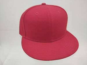 Chicago Bulls New Era fitted 59Fifty Genuine 7 1/2 Red blank NEW