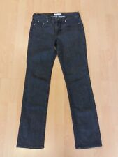 B94 WOMENS LEE RICE GREY SKINNY FIT DENIM JEANS SIZE UK M 10 W28 L30