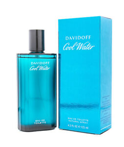 Cool Water by Davidoff 4.2 oz EDT Cologne for Men New In Box