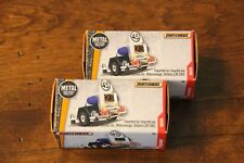 2017 MATCHBOX POWER GRABS SPEED TRAPPER 1:64 TWO CAR LOT IN BOXES