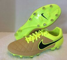 Nike Tiempo Legacy FG Mens Soccer Cleats Yellow 631521 707 Size 10