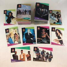 PROSET SUPER STARS MUSICARDS 1991 Complete Massive #1-#260 Card Set RAP & ROCK