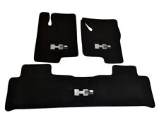 Floor Mats For Hummer H2 Tailored Black Carpets With H2 Emblem 2003-2009 LHD NEW