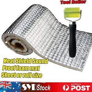 Heat Shield Barrier Sound Noise Proof Deadening White Foam Car Carpet Adhesive