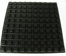 """50 SELF ADHESIVE RUBBER FEET 1/2"""" stick on equipment foot, USA made-USA shipping"""