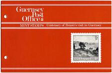 Guernsey 1983 Cent. Renoirs Visit MNH Presentation Pack #C40462