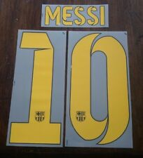 Messi BARCELLONA Nameset 2014-15 HOME NOME E NUMERO SET messi 10
