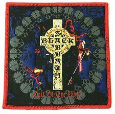 BLACK SABBATH - Headless Cross Tour 1989 - Woven Patch Rare Aufnäher Parche