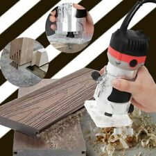 Electric Woodworking Router Trimmer 1200W 35000 Rpm Handheld Tool Wood Milling