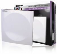Konig DVB-T Freeview Indoor or Outdoor Amplified TV/FM Antenna Aerial 18dB