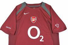 MENS M Nike Arsenal Gunners Soccer Jersey O2 Maroon Red 90
