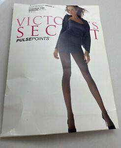 Victoria's Secret Compression Level 2 Hosiery Hose Medium Pulse Points Black