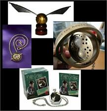 HARRY POTTER ~ HORCRUX LOCKET, TIME TURNER & GOLDEN SNITCH ~ ALL 3 in one LOT!