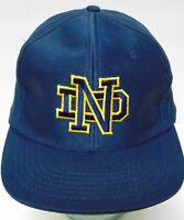 New Old Vintage 1990s NOTRE DAME FIGHTING IRISH NCAA FOOTBALL SNAPBACK HAT CAP
