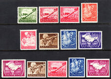 Azad Hind Indian independence stamps Second World War mnh