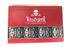 WITCH DOKTOR ROBUSTO RED WOOD CIGAR BOX - NICE - BEAUTIFUL!