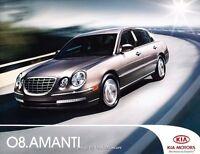 2008 Kia Amanti 20-page Original Car Sales Brochure Catalog