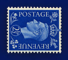 More details for 1940 sg466a 2½d ultramarine (wmk side) q13b mounted mint hinged cqyq