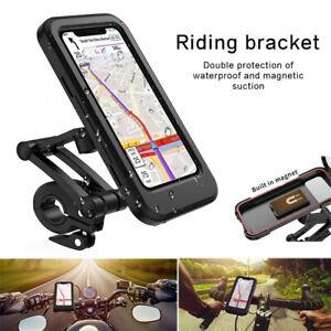 Fahrrad Lenkertasche Vorbau Handy Tasche Smartphone Halterung MTB Wasserdicht DE