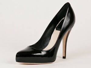 New Christian Dior Black Patent leather Pumps  Size EU 38.5 US 8.5