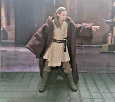 Star Wars Qui-gon Jedi manto personalizados para serie negra de 6 pulgadas y figuras figuarts