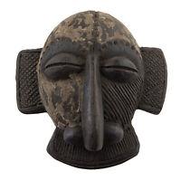 Masque africain passeport terre cuite Terre cotta Art Tribal Premier  6366 E9B