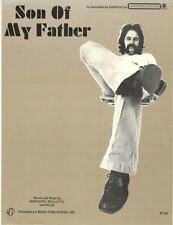 "GIORGIO ""SON OF MY FATHER"" SHEET MUSIC-PIANO/VOCAL/GUITAR/CHORDS-1972-RARE-NEW!!"