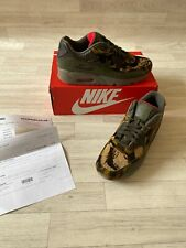 MENS NEW AUTHENTIC NIKE AIR MAX 90 CAMO CROC TRAINERS UK10 SNEAKERS PARRA 1 97
