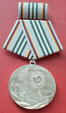 East German National Army 30th Anniversary Medal + Case badge order  DDR GDR